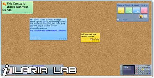 Crea la tua scrivania virtuale con linoit marco e for Crea la tua casa virtuale