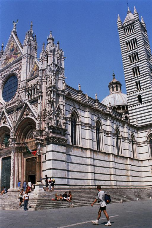 Catedral de estilo gótico italiano de Siena
