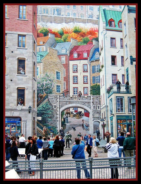 Wall Painting Wall Painting Quebec City Quebec Igor Flickr