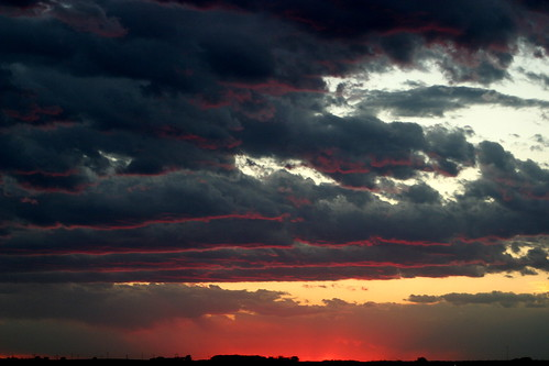 pink sunset sky sun june clouds iowa markevans colorphotoaward chimothy27