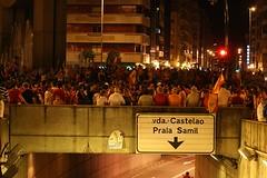 Vigo celebra la Eurocopa