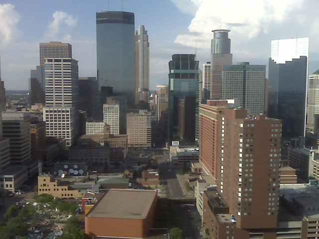 From The 35th Floor Of The Marquette Place Apartments