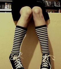 arm(0.0), high-heeled footwear(0.0), human body(0.0), tights(0.0), footwear(1.0), clothing(1.0), shoe(1.0), limb(1.0), leg(1.0), fashion(1.0), sock(1.0), thigh(1.0), black(1.0),