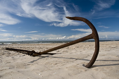 Beached Anchor