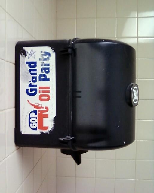 Restroom Politics: Grand Oil Party
