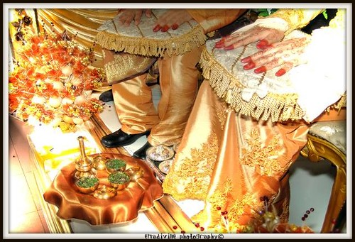 custom of Malay 39s wedding bersanding