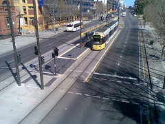 Tram @ City West