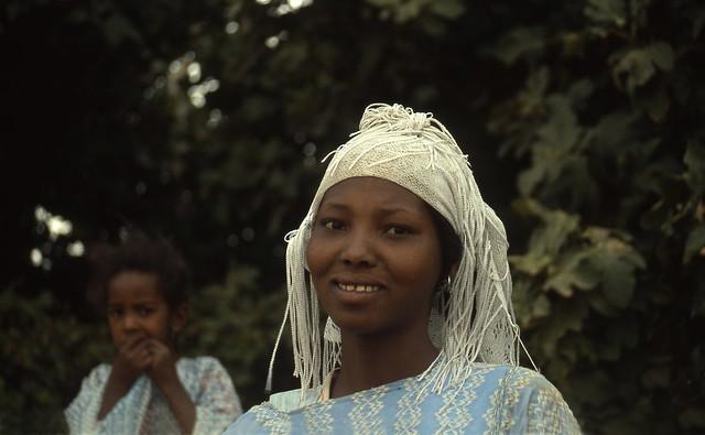 Ragazza tuareg