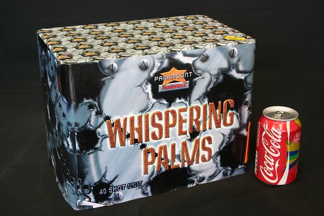 Epic Fireworks  - Whispering Palms 40 Shot Barrage