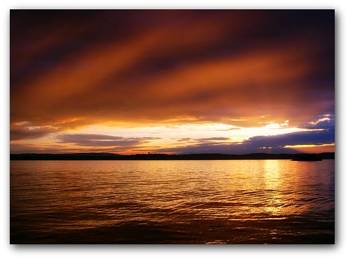 sunset sky lake cold clouds germany bodensee 189
