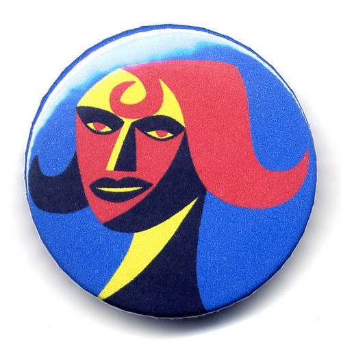 Woman portrait - new button