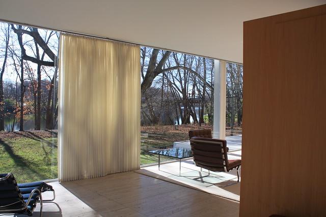 Interior Of Farnsworth House Farnsworth House Plano IL Flickr