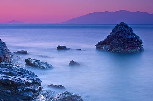 mountains water colors sunrise turkey island rocks sony may vivid ile kos greece mai 2008 grece grecja a700 abigfave platinumheartaward dslra700 vacancesgrecja