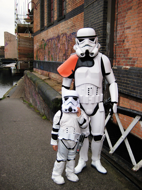 Aren't you a little short for a stormtrooper?