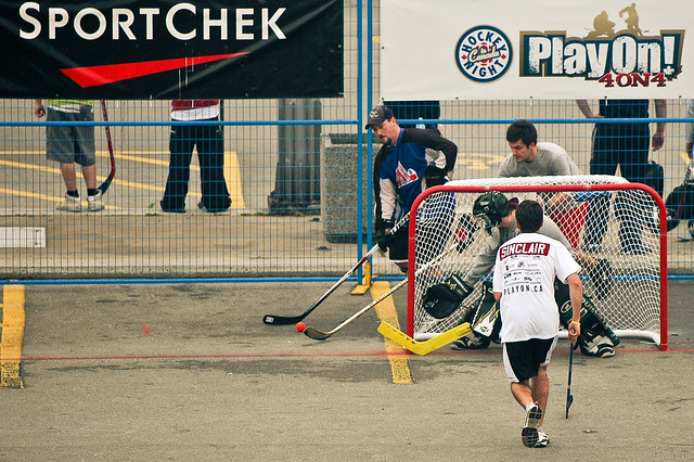 Play On: 4 on 4 Street Hockey