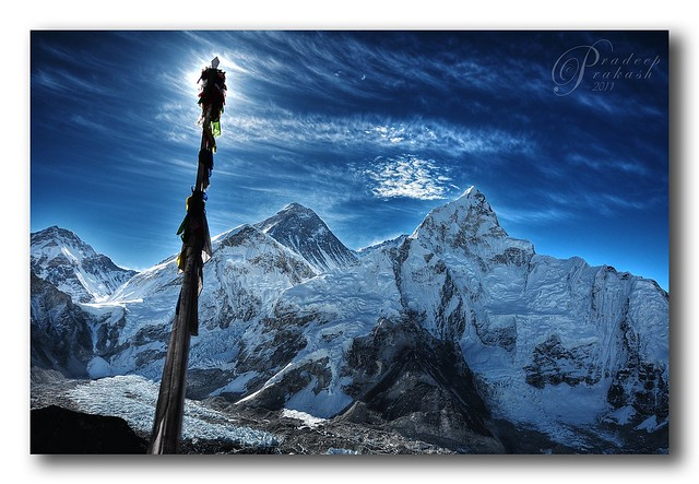 HDR - Everest From Kalapattar