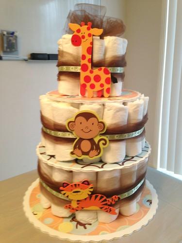 Diaper Cake March 2014