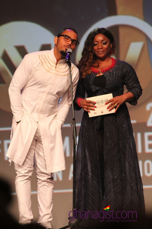 Ramsey Nouah and Bimbo Akintola