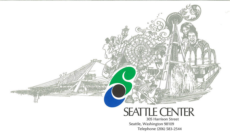 Seattle Center logo, circa 1973