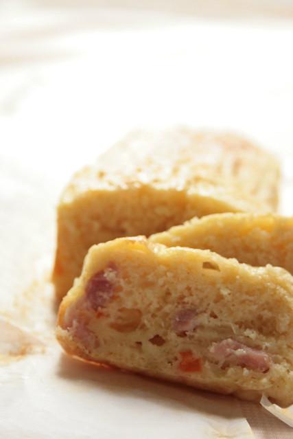Recette Cake Lardon Tomate Gruyere