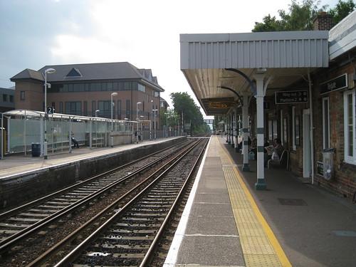 Platform at Reigate Station