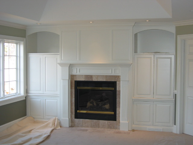 Custom Built In Wall Unit With Fireplace Flickr Photo Sharing