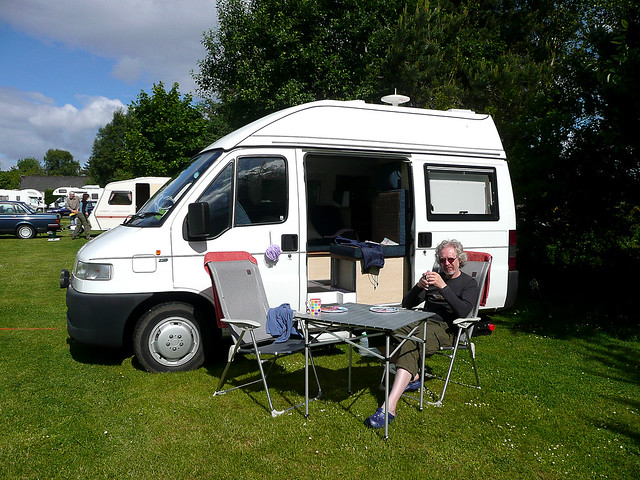 Our small and beautifully formed camper van flickr photo sharing