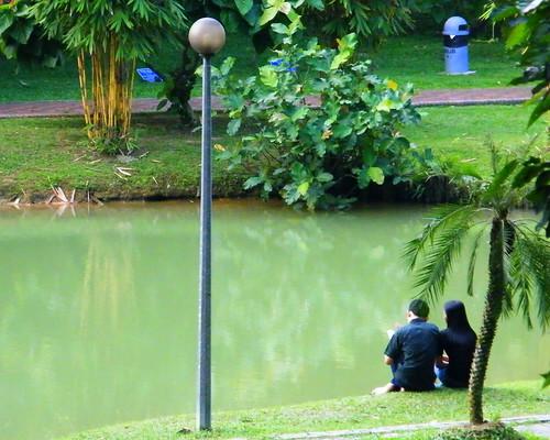 Dating couple @ Hutan Bandar , JB