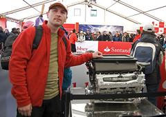 racing(0.0), sport venue(0.0), auto mechanic(0.0), vehicle(0.0), transport(0.0), fire department(0.0), race track(0.0), emergency service(0.0), team(0.0), automobile(1.0), engine(1.0),