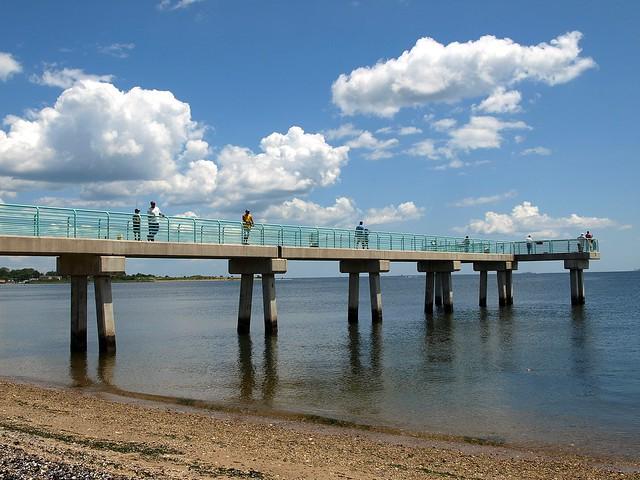 Princes bay fishing pier raritan bay staten island new for City island fishing
