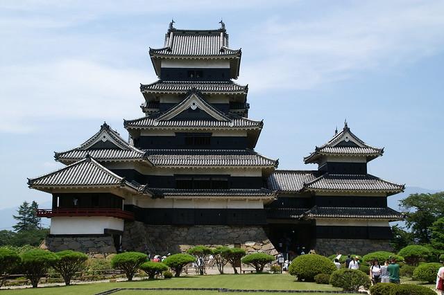 El castillo de Matsumoto. Prefectura de Nagano. Japón.