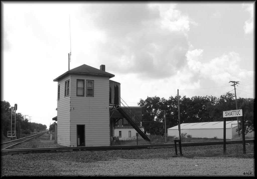 ex-B&O Tower at Shattuc, Illinois