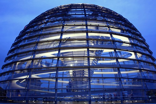 Thank you for more than 35,000 clicks on that photo!  Dome of the Reichstag building - La cúpula del Reichstag - Reichstagskuppel Berlin