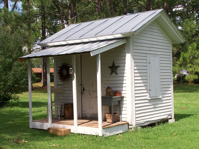 Oko bi shed roof over porch for Shed roof screened porch plans