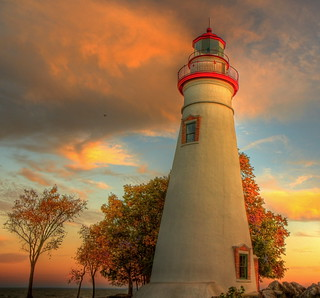 Autumn at the Marblehead Lighthouse