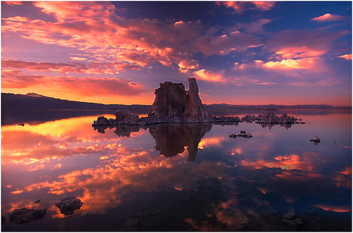 california sunset lake mountains color weather clouds sierras monolake bishop easternsierras tufas supershot colorphotoaward unature unaturefav theperfectphotographer kevinmcneal