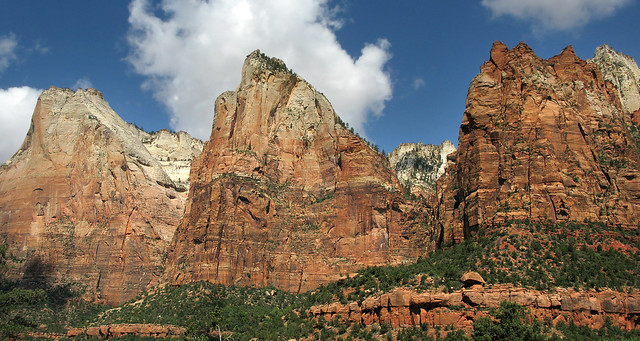 Court of the Patriarchs - Zion National Park