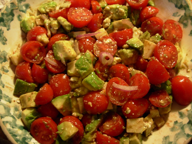 Lunch - Tomato and Avocado Salad | Flickr - Photo Sharing!