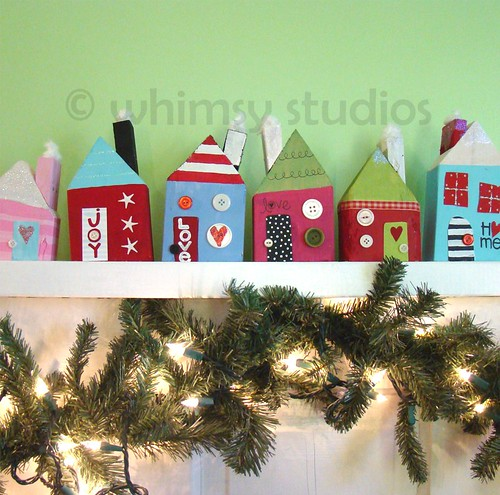 whimsy studios happy homes winter series