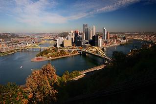 Pittsburgh in autumn
