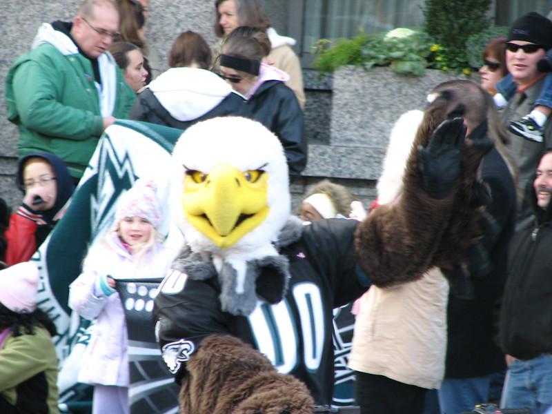 Philadelphia Eagles Mascot Swoop Philadelphia Picture