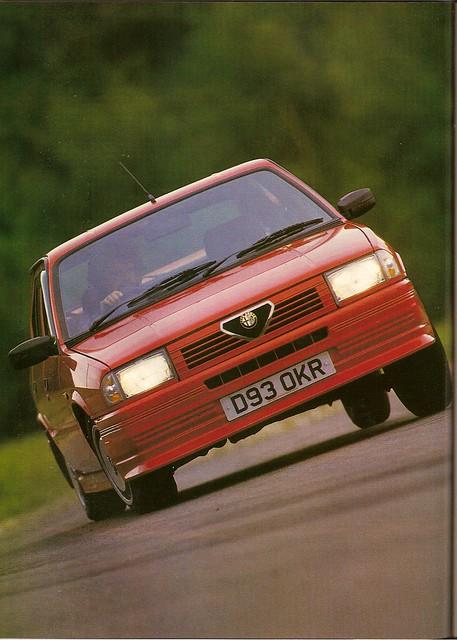 Alfa Romeo 33 1.7 Veloce Road Test 1987 - a photo on Flickriver
