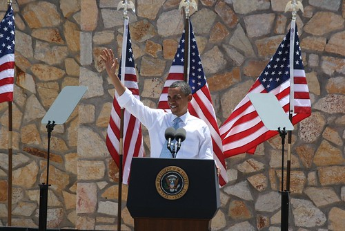 Obama lands at Fort Bliss during El Paso visit [Image 2 of 3]