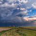 Campo Storm Panorama by Matt Grans Photography