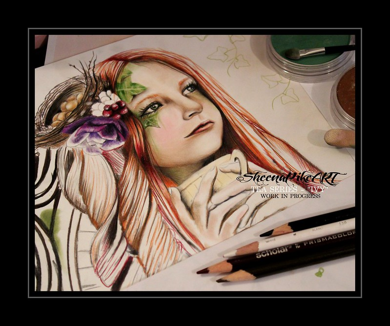 IVY WIP �Sheena Pike Art