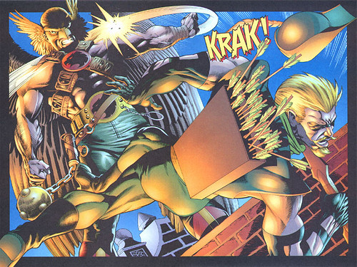 hawkman-vs-green-arrow