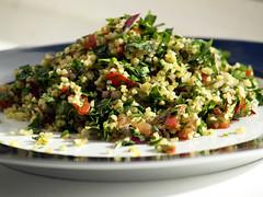 Bahrainian food tabbouleh