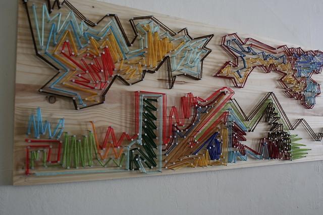 String Wall Art string art - a gallery on flickr