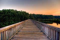 Lake Johnson Boardwalk HDR