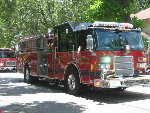 Sedatives Grove Fire Department truck – Pierce